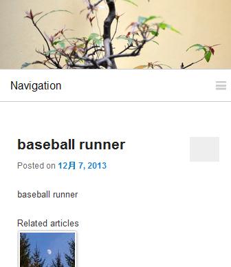 レスポンシブ対応のナビゲーションメニューjQueryプラグイン「Naver」導入後イメージ